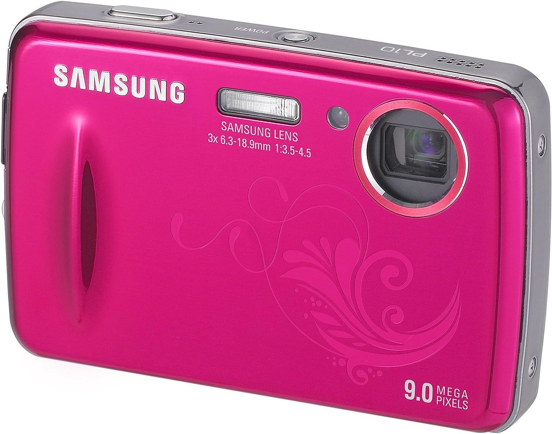 Samsung PL10 - Cámara Digital Compacta 9.2 MP - Rosa: Amazon.es: Electrónica