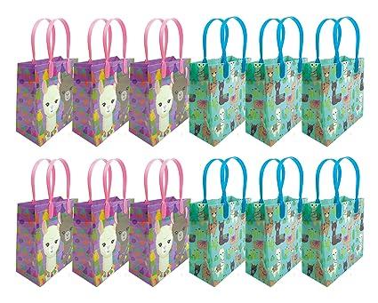 Amazon.com: Llama - Bolsas de regalo para fiesta, 12 ...