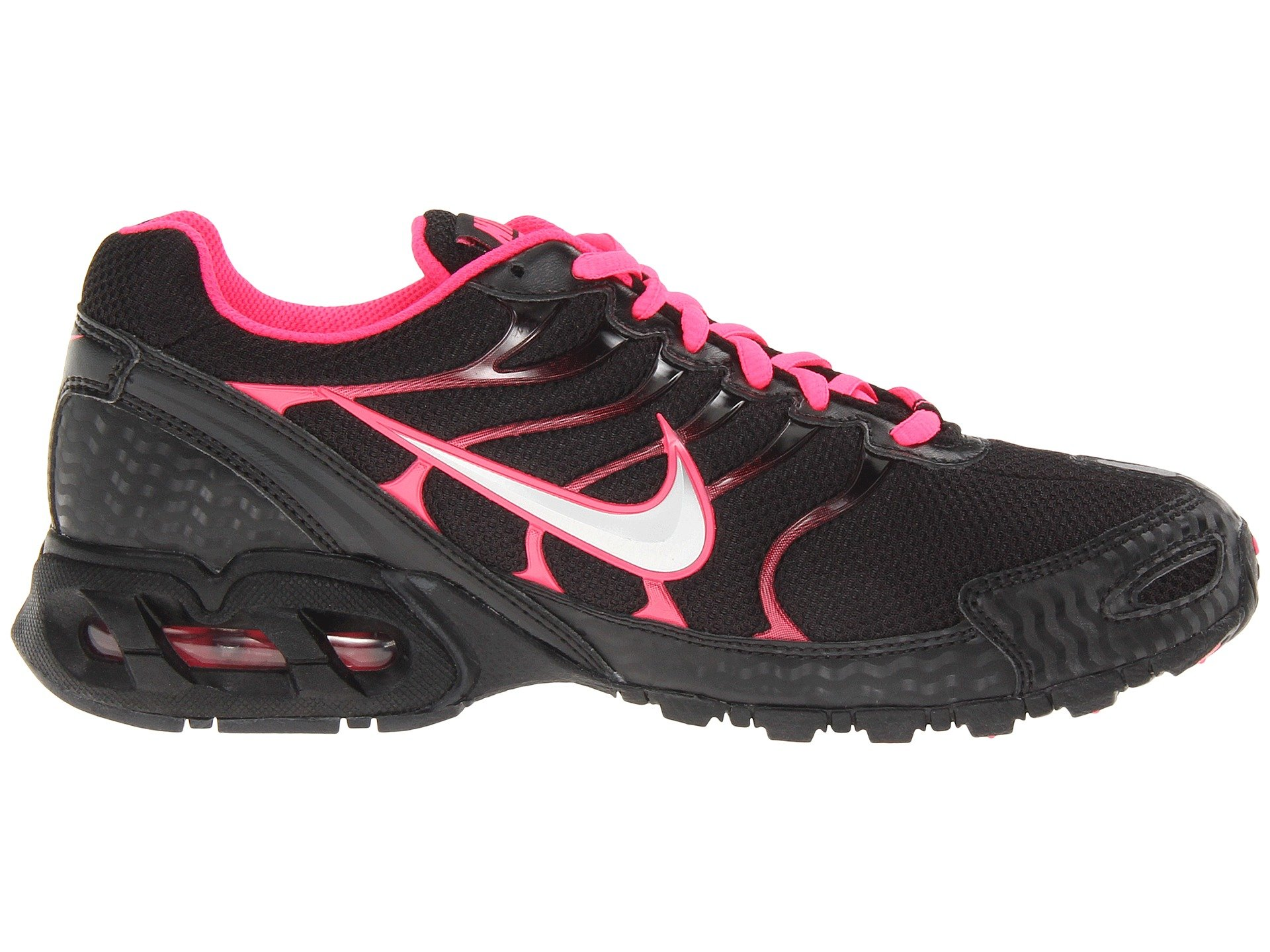 competitive price 97f97 d19cc Nike Women s Air Max Torch 4 Running Shoes (7.5 B(M) US, Black Volt Pink) -  343851-006   Road Running   Clothing, Shoes   Jewelry - tibs
