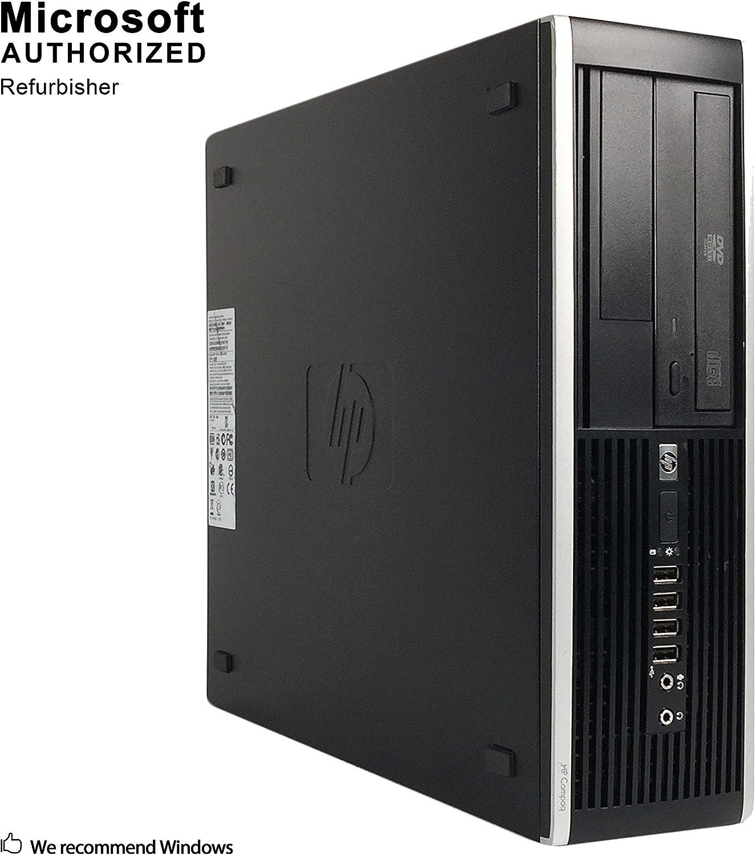 HP Pro 6300 Small Form Business Desktop Computer (Core i5 3470 3.2Ghz, 8G DDR3 RAM, 3TB HDD, DVD-ROM, Display Port, VGA, USB 3.0, Windows 10 Pro 64-Bit) (Renewed)