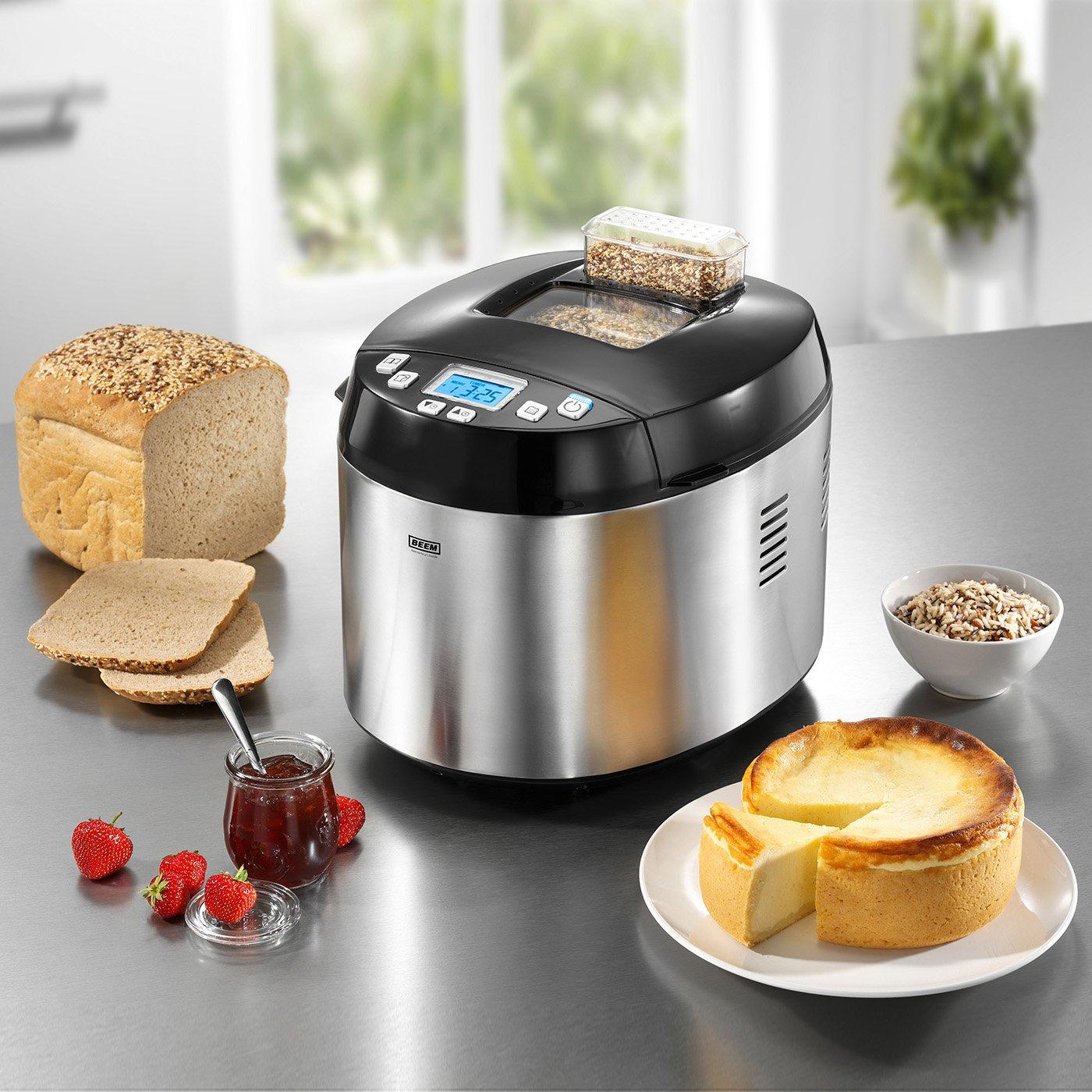 BEEM Germany Multi-Back Topclass 5 in 1 - Máquina de hacer pan, arrocera, reductora por cocción y panificadora: Amazon.es: Hogar
