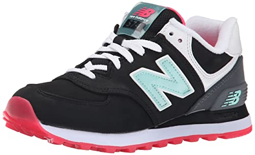 2015 nuovi arrivi New Balance WL574 Sneakers basse green