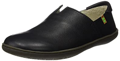 Naturaliste Ne08, Slip-on Homme Chaussures, Noir (noir / Vert), 41 Eu