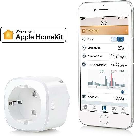 Eve Door /& Window non occorrono bridge o gateway Sensor inal/ámbrico de contacto Apple HomeKit Bluetooth Low Energy blanco