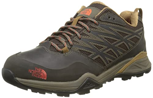 The North Face M Hedgehog Hike, Zapatillas de Senderismo para Hombre, Marrón (Weimaraner Brown/Zion Orange), 40 1/2 EU: Amazon.es: Zapatos y complementos