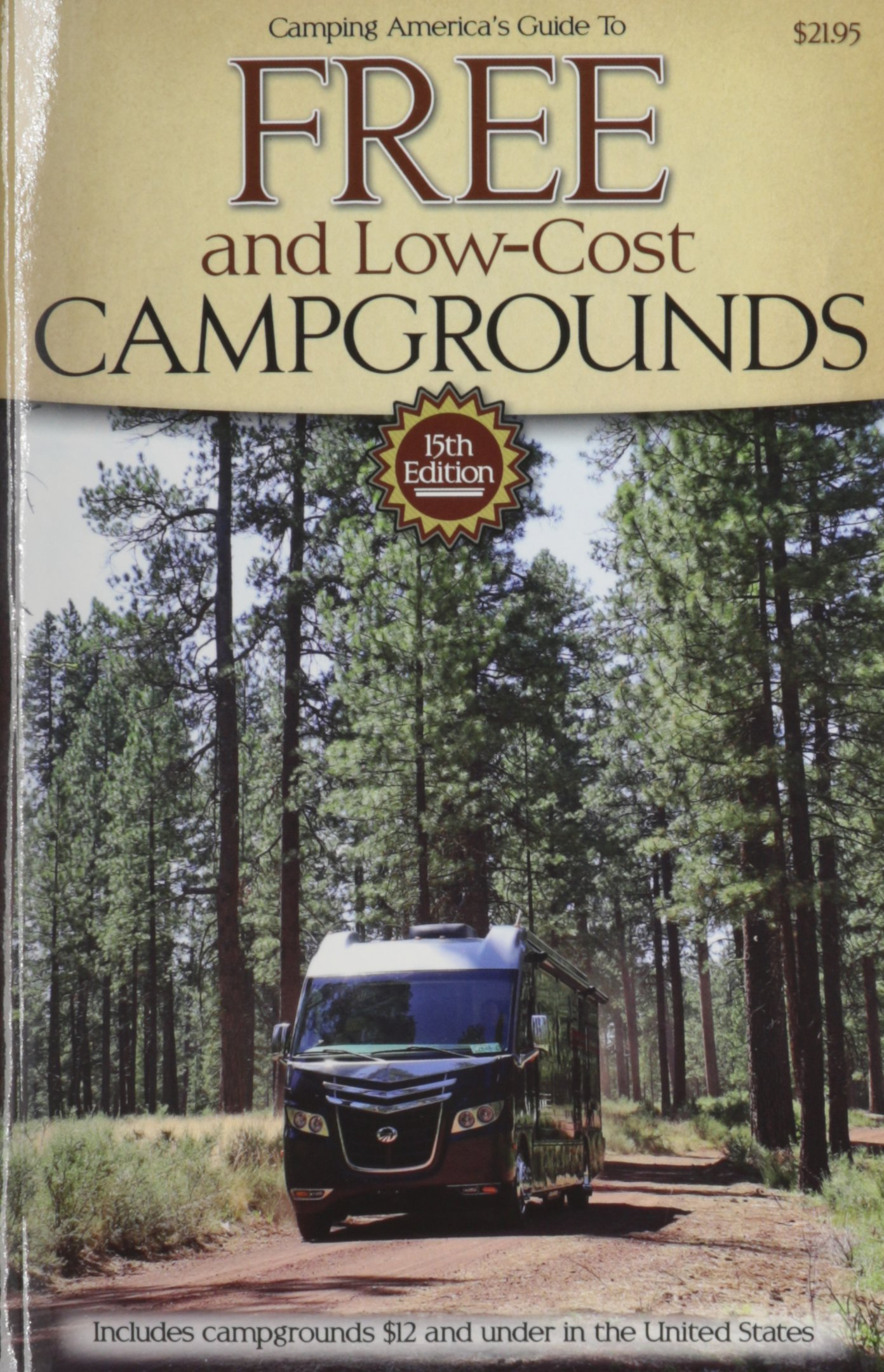 Camping Americas Guide Low Cost Campgrounds product image