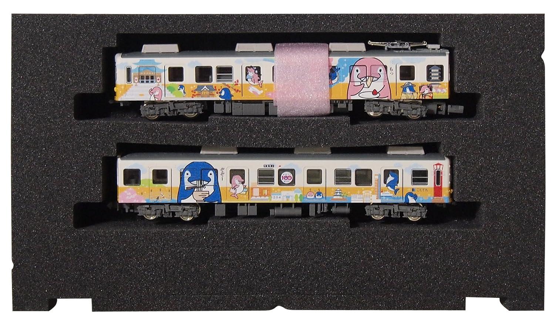 Spur N Takamatsu Kotohira elektrische Eisenbahn 1200 Form, Form, 1200 dass chan Sprung Nr 2 Tanks gesetzt (mit Power-LED leuchtet) 17a383