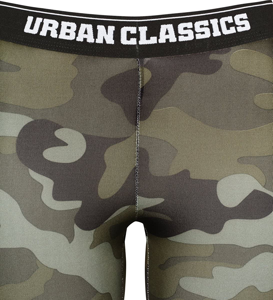 Urban Classics Ladies Camo Logo Leggings Donna