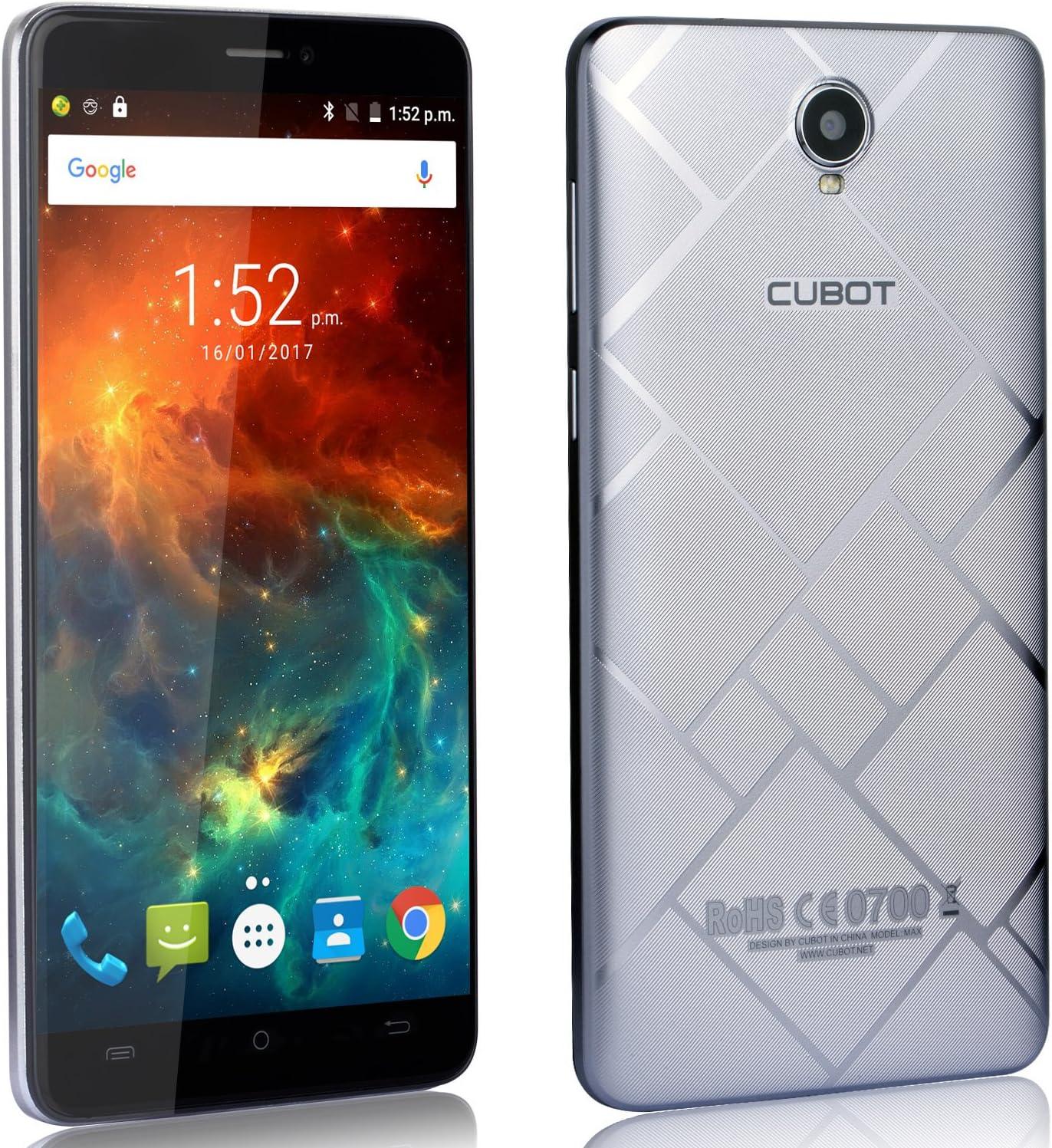 Cubot Max - Smartphone Libre 4G Android 6.0, (Pantalla Táctil 6.0\