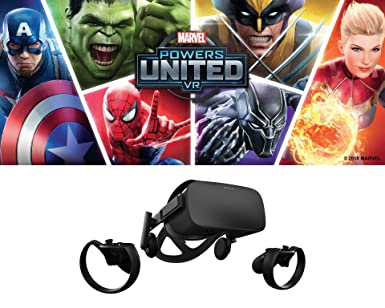 d65e9329f67d Oculus Marvel Powers United VR Special Edition Rift + Touch – PC (Limited  Edition) - Windows  Amazon.ca  Computer and Video Games
