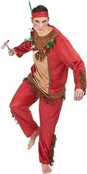 Disfraz de indio rojo hombre - XL: Amazon.es: Juguetes y juegos