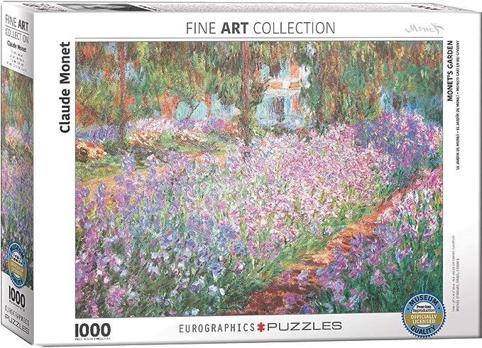 Claude Monet EG60004366 Waterlilies Eurographics Puzzle 1000 Pc
