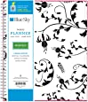 """Blue Sky 2017-2018 Academic Year Monthly Planner, Twin-Wire Bound, 8"""" x 10"""", Analeis"""