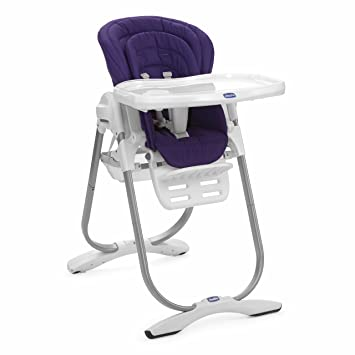 Chicco Kinderhochstuhl Polly Magic Purple Rain Amazonde Baby