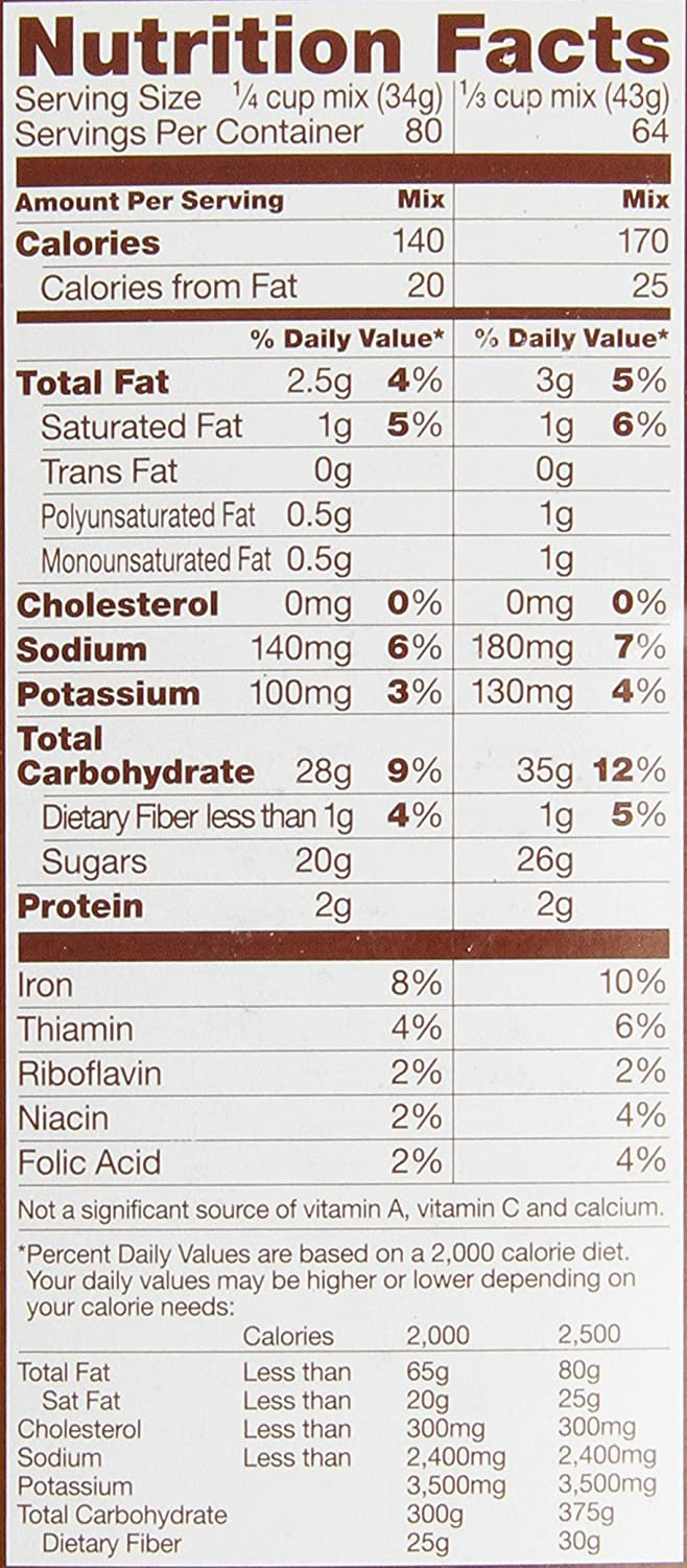 Amazon.com : Sweet Rewards Low Fat Brownie Mix, 6-Pound ...