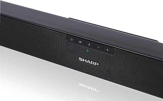 Sharp HT-SB140MT 2.0 Soundbar Bluetooth con HDMI ARC/CEC, Potencia Total de 150 W, 95 cm, Color Negro Mate: Sharp: Amazon.es: Electrónica