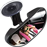 Baby Car Backseat Mirror, Rear View Facing Back Seat Mirror Child Safety Rearview Adjustable Rearview Wide Angle Convex Mirro
