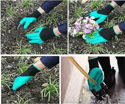Gartengeräte 4 Sets Gartenhandschuhe + Schaufel (breit) + Shove + ...