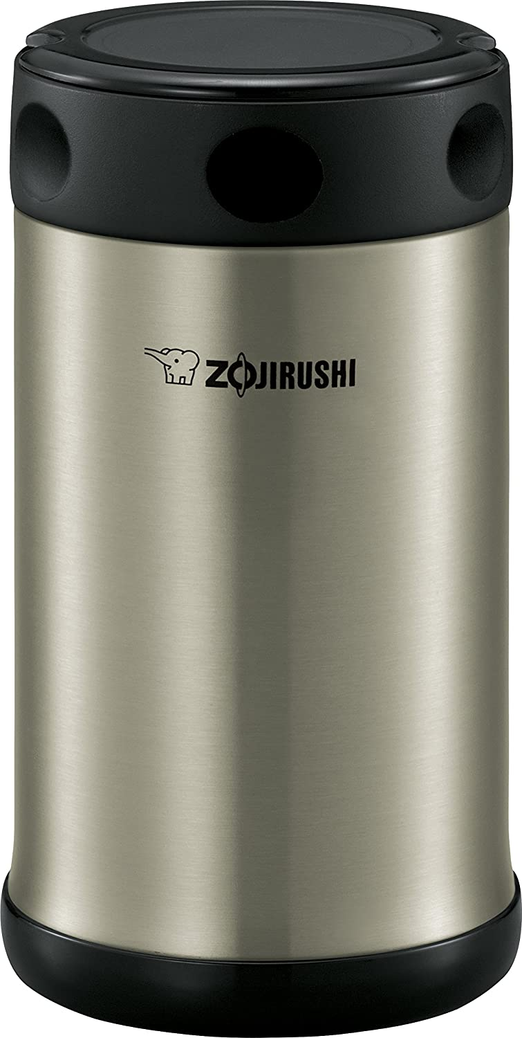 Zojirushi SW-FCE75XA Food Jar, 25-Ounce, Black/Stainless
