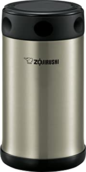 Zojirushi Sw Fce75 Xa Food Jar, 25 Ounce, Black/Stainless by Zojirushi