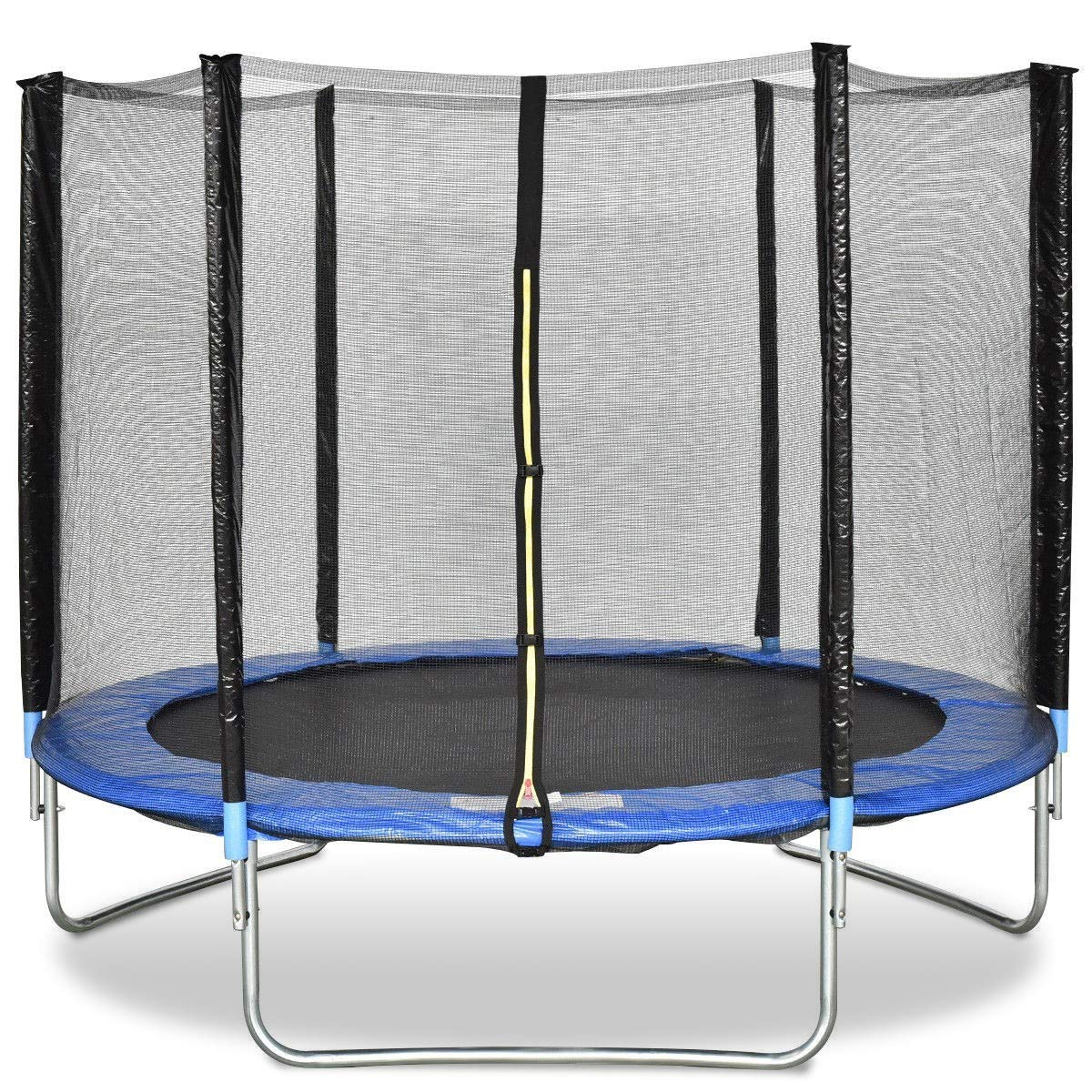 LordBee Unique Design 8 ft Safety Jumping Round Trampoline with Spring Safety Pad Waterproof High Temperatures Safety