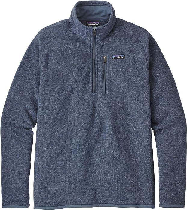 1e95456f70d46 Men's Better Sweater Jacket 1/4 Zip Dolomite Blue