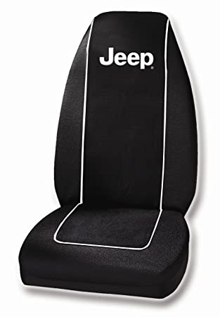 Jeep Seat Covers >> Jeep Text Seat Cover Seat Covers Amazon Canada