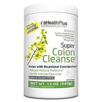 Health Plus Super Colon Cleanse: 10-Day Cleanse -Detox | More than 2