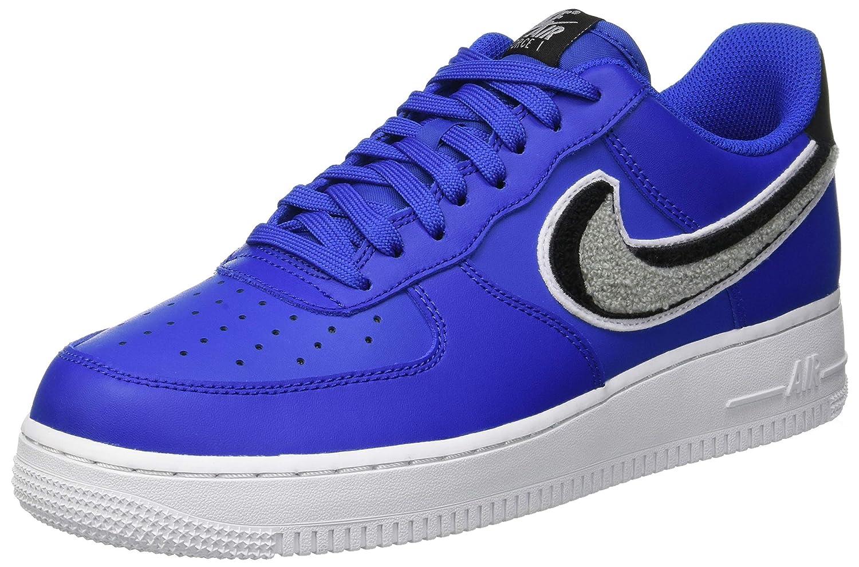 Nike Air Force 1 '07 Lv8, Zapatillas de Gimnasia para Hombre 39 EU|Dorado (Game Royal/Wolf Grey/Black/Whi 409)
