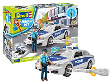 Junior De Voiture Revell Kit Construction Jeu Police Avec nwO08kP
