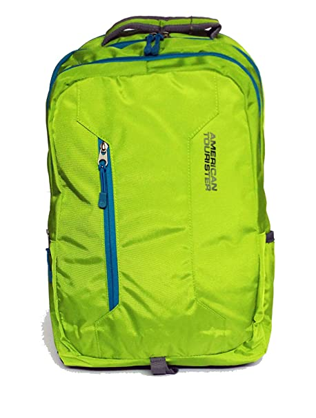 d84e000ef9d2 Image Unavailable. Image not available for. Colour: American Tourister  20Liters Nylon Green Laptop Backpack