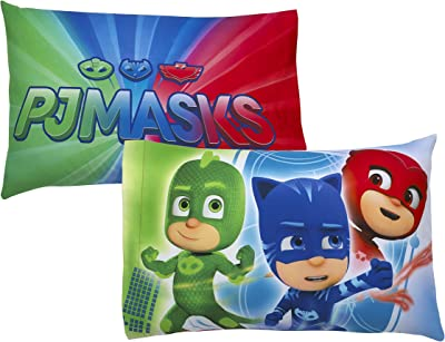 Entertainment One PJ Masks Standard Reversible Pillowcase 1ct