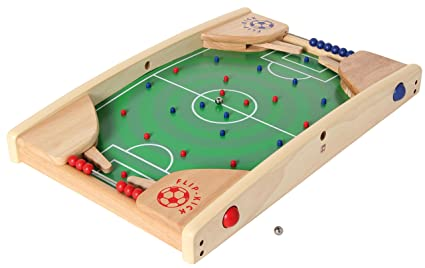 Flip Kick Deluxe, 58 cm, mezcla de Flipper y futbolín, el fútbol de