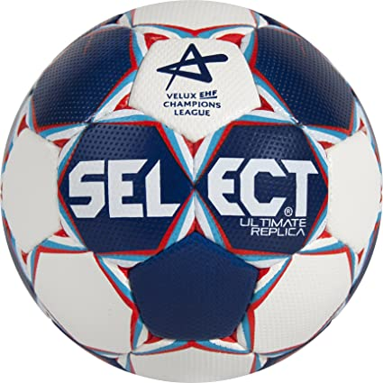 SELECT Balón de Balonmano Ultimate Replica CL, Blanco/: Amazon.es ...