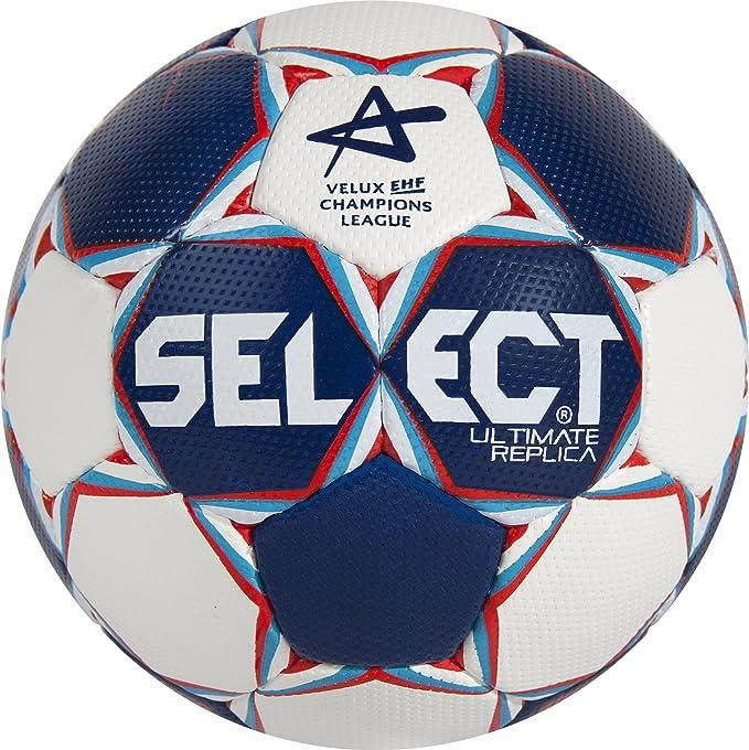 1 opinioni per Select pallone da pallamano Ultimate Replica CL, Blu/Bianco/Rosso