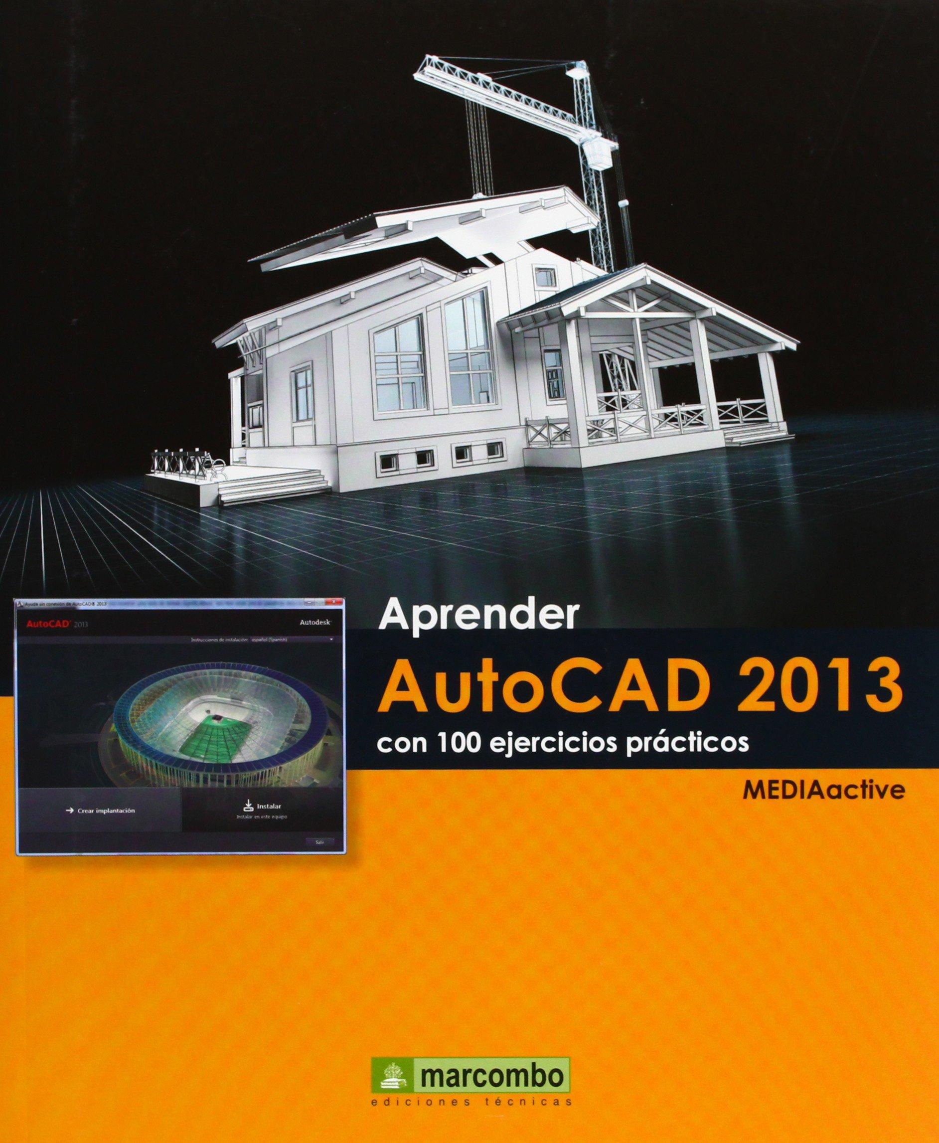 Download Aprender Autocad 2013 con 100 ejercicios prácticos pdf