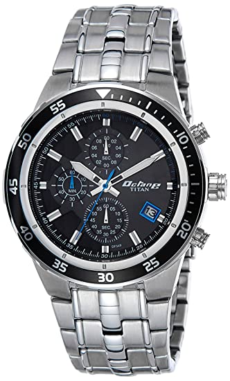 0966a42281f Buy Titan Chronograph Black Dial Men s Watch -NK9466KM09 Online at Low  Prices in India - Amazon.in