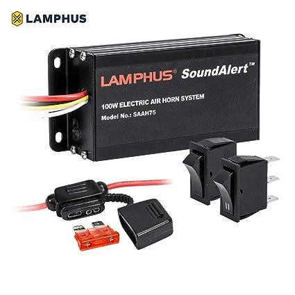 lamphus soundalert saah75 100 W electrónica aire cuerno ...