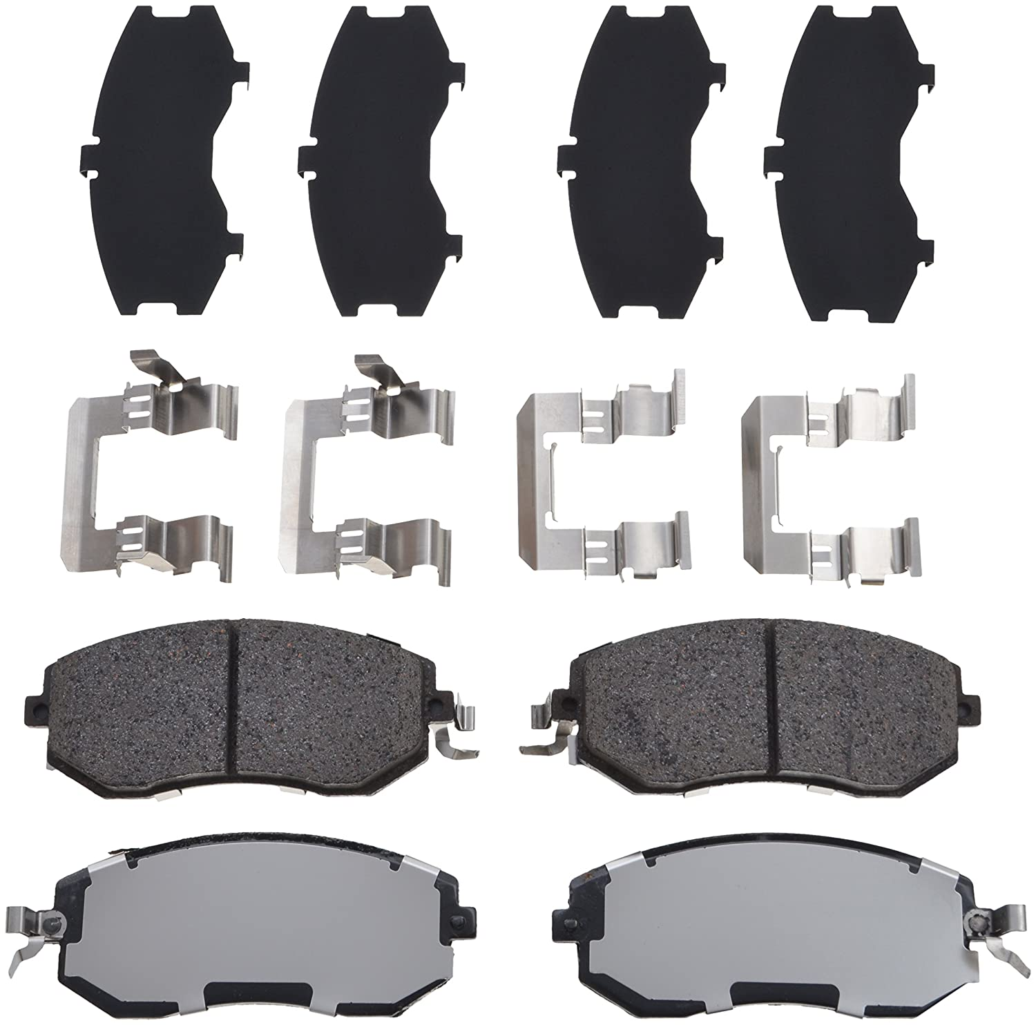 TRW TPC1539 Premium Ceramic Front Disc Brake Pad Set
