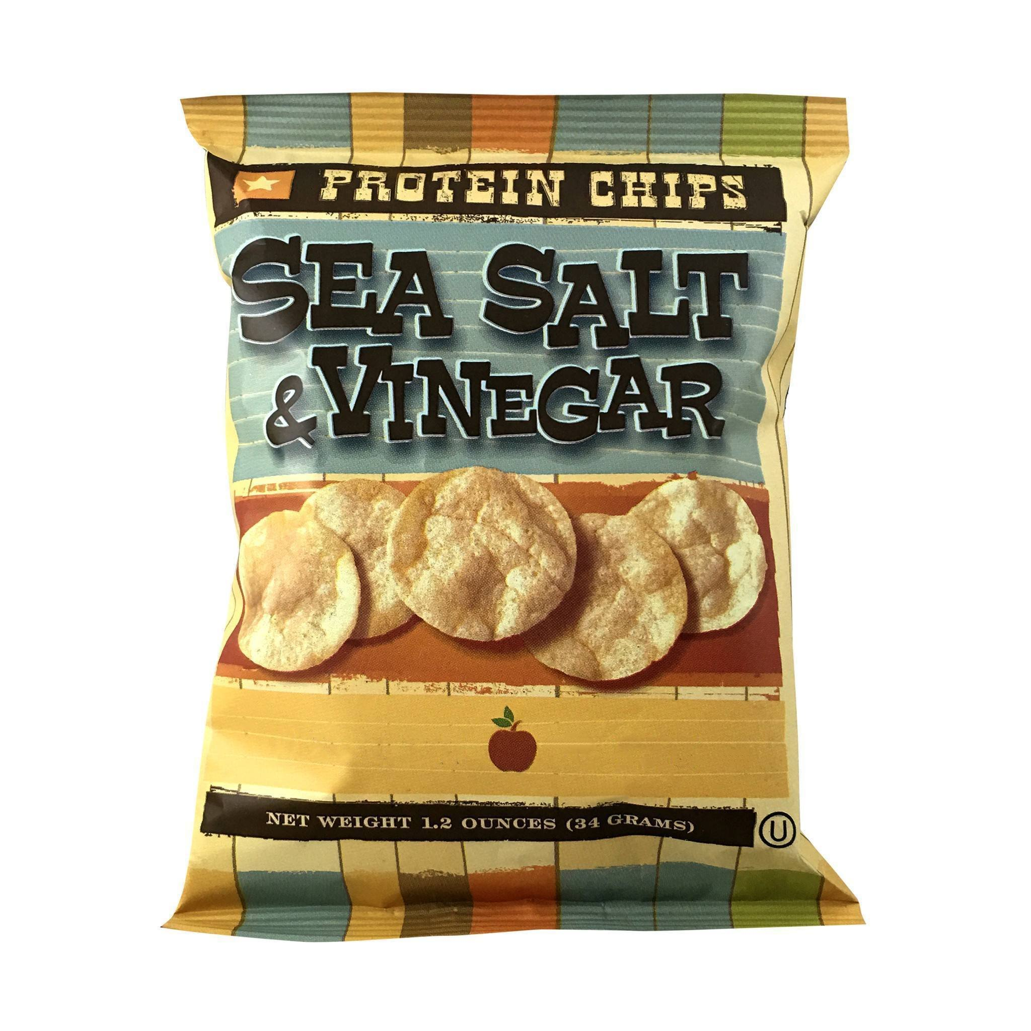BariatricPal Protein Potato Chips - Sea Salt and Vinegar Crunch (7-Pack)