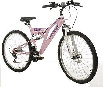 DUNLOP DIS27ASD - Bicicleta Doble suspensión para Mujer, Color ...