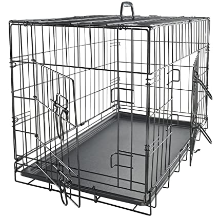 Wire Cages | Amazon Com Dog Crates For Large Dogs Dog Crate 36 Pet Cage