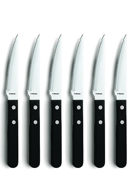 Amefa - Juego de Cuchillos de Carne - 6 Unidades