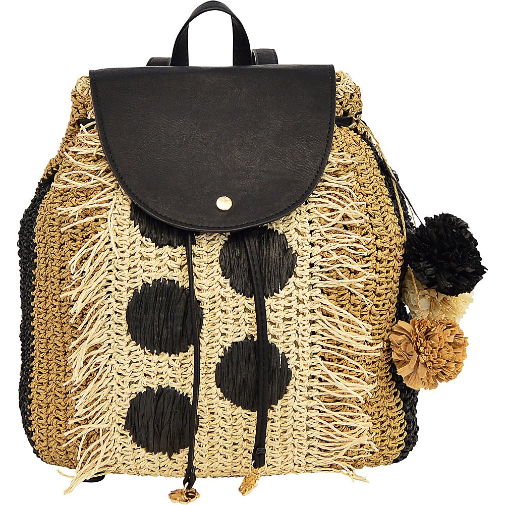 Tommy Bahama Handbags Tommy Bahama Mama Backpack (Black Multi)
