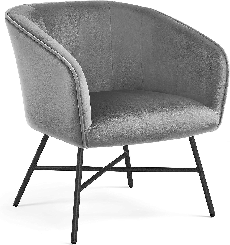 Best Flexible Lounge Chair: Yaheetech Accent Armchair