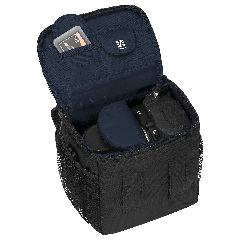 Essex grande SLR con custodia antipioggia e pellicola protettiva per Nikon D500//D610//D3400//D3300//D5300//D7100//D7200//Canon EOS 1300D//5D Mark II fotocamera/ /rosso