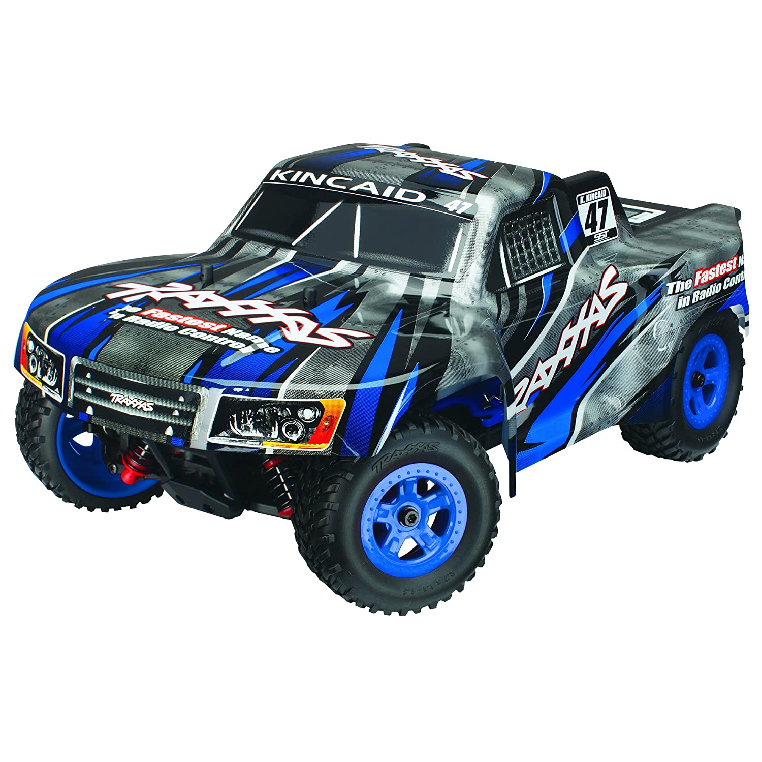 Amazon Traxxas 1 LaTrax SST Fully Assembled Truck Ready To Run 1 18 Scale Colors May Vary Toys & Games