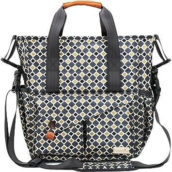 Amazon.com: haptim elegante multifunción bebé pañal bolsa w ...