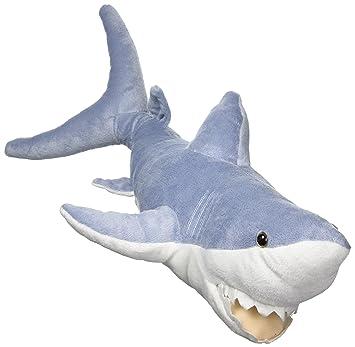 Amazon Com Adventure Planet Plush Mako Shark 20 Inch Toys