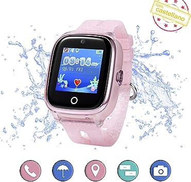 Smartwatch para niños con localizador GPS, Llamadas y cámara de ...